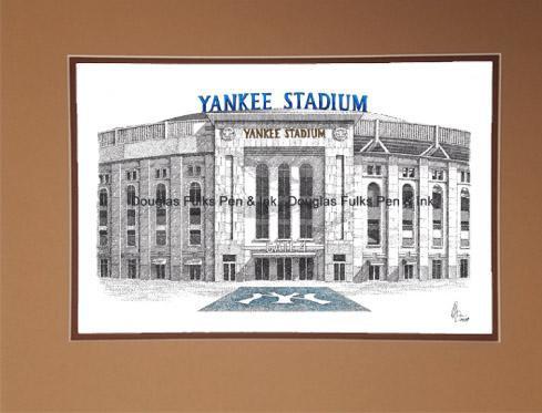 Yankee Stadium (new), matted