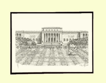 Nelson-Atkins Museum, Matted
