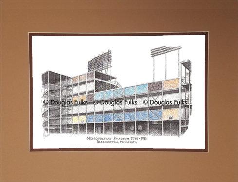 Metropolitan Stadium, Matted