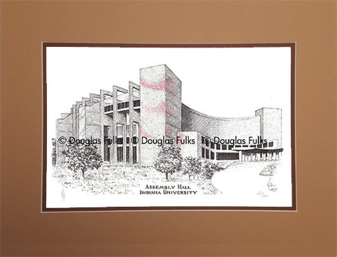Assembly Hall, Matted