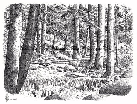 Chicago Creek, Print