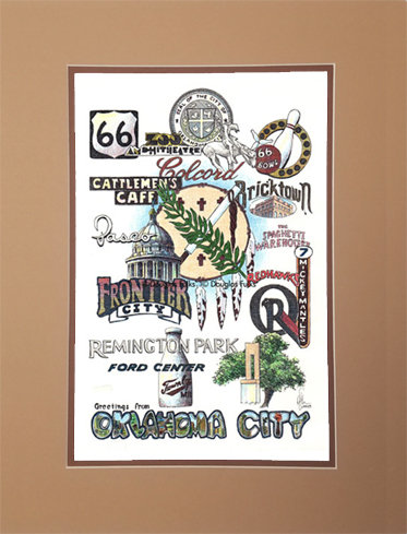 Oklahoma City, Oklahoma Matted