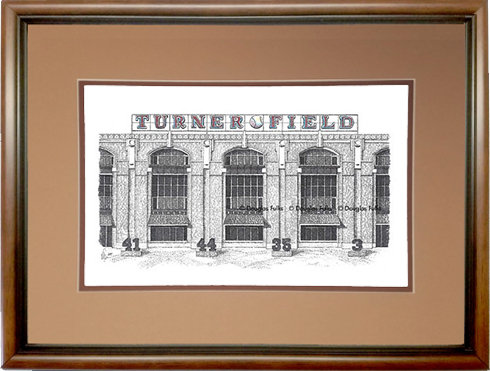 Turner Field, Framed