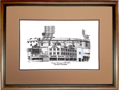 Detroit Tiger Stadium, Framed