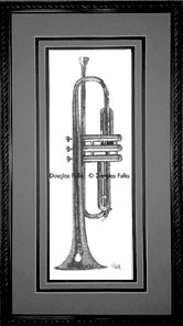 Trumpet, Framed