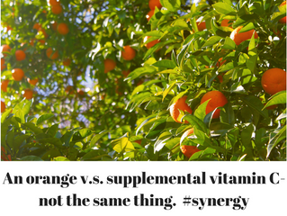 Excerpt from: The Toss Up: An Orange and A Vitamin C Tablet, do they both land equally?