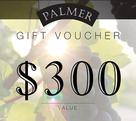 PALMER $300 GIFT VOUCHER
