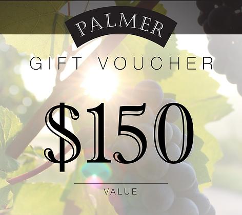 PALMER $150 GIFT VOUCHER