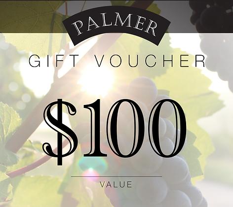 PALMER $100 GIFT VOUCHER
