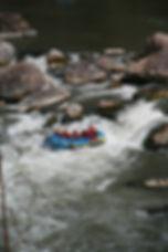 sensation eau bateau rafting et rapides au Pérou