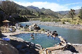 Colca sources d'eaux chaudes et bains termaux