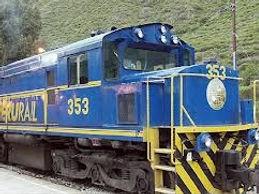 Train et transport pour Cusco au Pérou