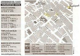 Boleto circuito religioso Billet du Circuit Religieux de Cusco