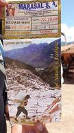 Informations praiques aux Salines de Maras