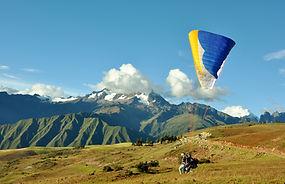 Aventure au Pérou Parapente à Cusco
