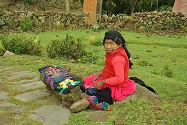 Ile de Taquile Lac titicaca voyage au Pérou