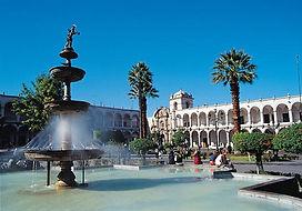 Visiter et à voir la Plaza de Armas d'Arequipa