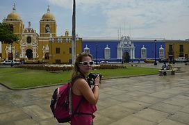 Visiter et à voir la Plaza de armas de Trujillo