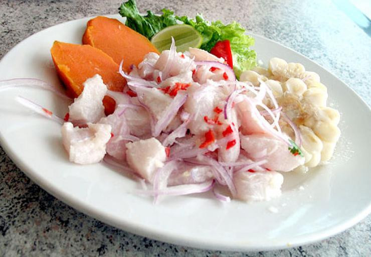 Le Ceviche, le plat typique du Pérou