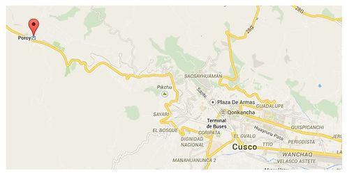 Rejoindre Poroy de Cusco