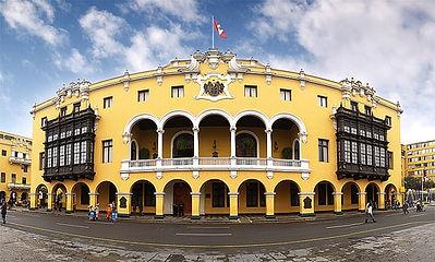 Vacances au Pérou le palais Municipal de Lima
