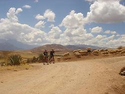 Voyager et visiter le Pérou VTT - vélo tout terrain
