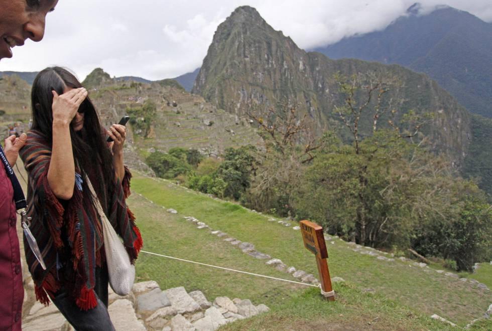 Demi Moore au Machu Picchu