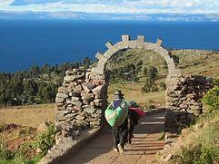 Ile d'Amantani Lac titicaca circuit au Pérou