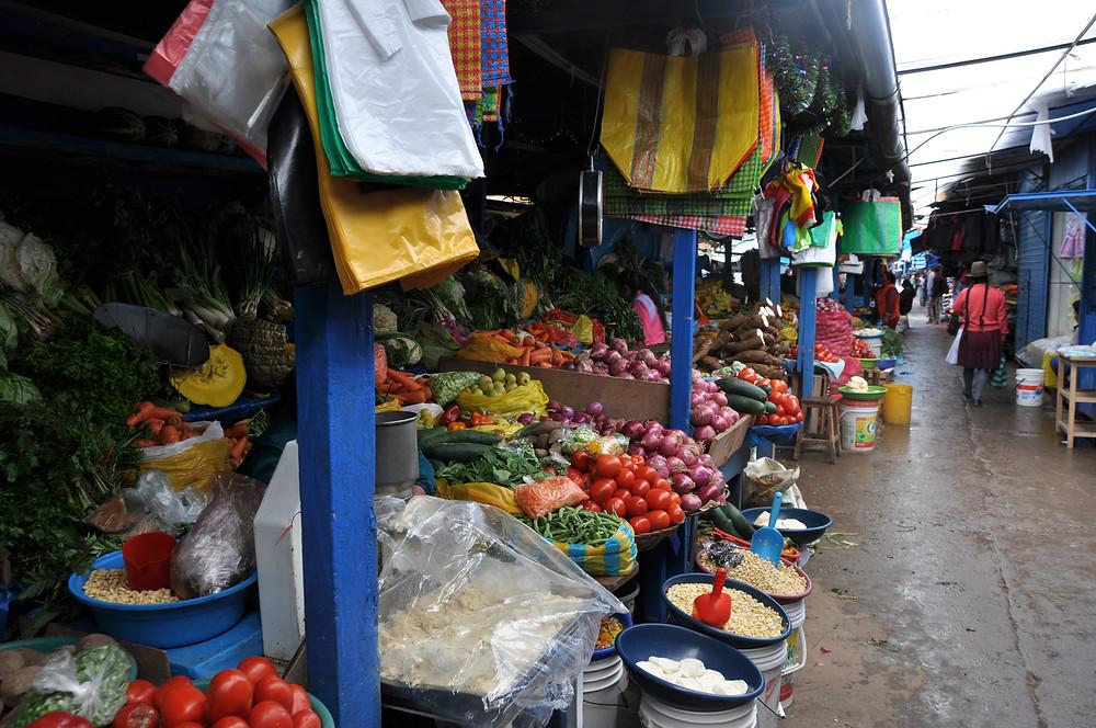 Marché de Wanchaq, Cusco