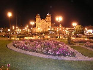 Voyaget et circuit à Cusco Plaza de Armas
