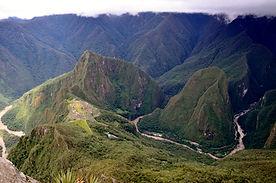Machu Picchu - Vue de la Montagne
