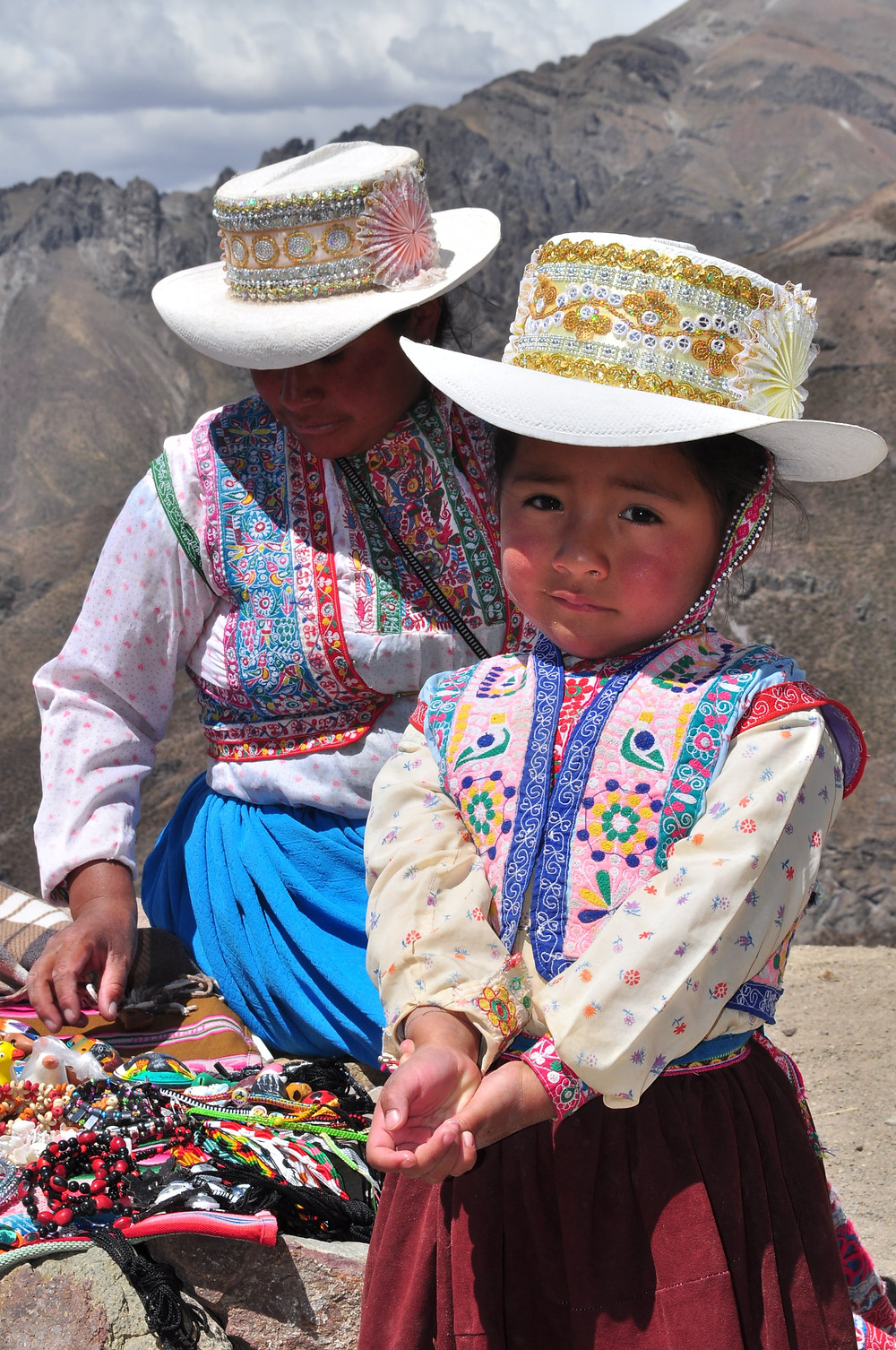 Tenues traditionnelles d'Arequipa