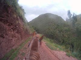 Les Salines de Maras à chevalbalades et randonnées