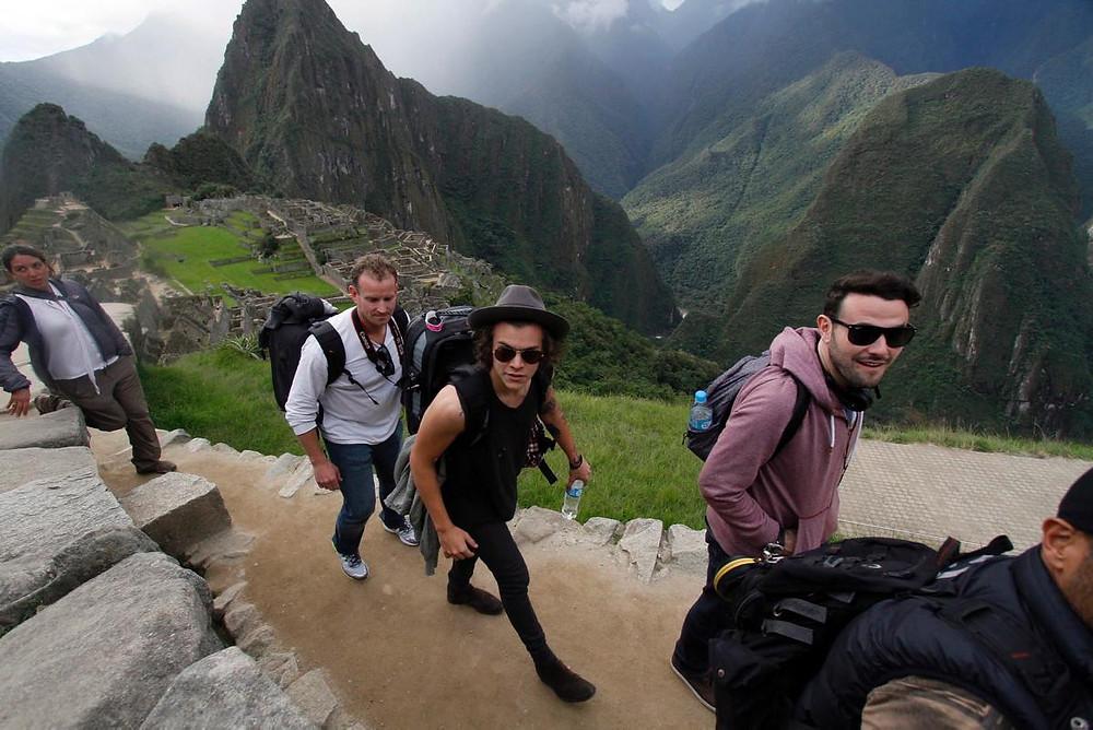 One Direction au Machu Picchu