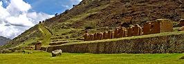 Les balcons de la Vallée Sacrée au Machu Picchu