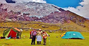 Camping et trek de l'ausangate, cordillère de Vilcanota