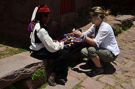 Ile de Taquile Lac titicaca voyage en famille