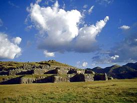 Site archéologique de Sacsayhuamán à Cusco