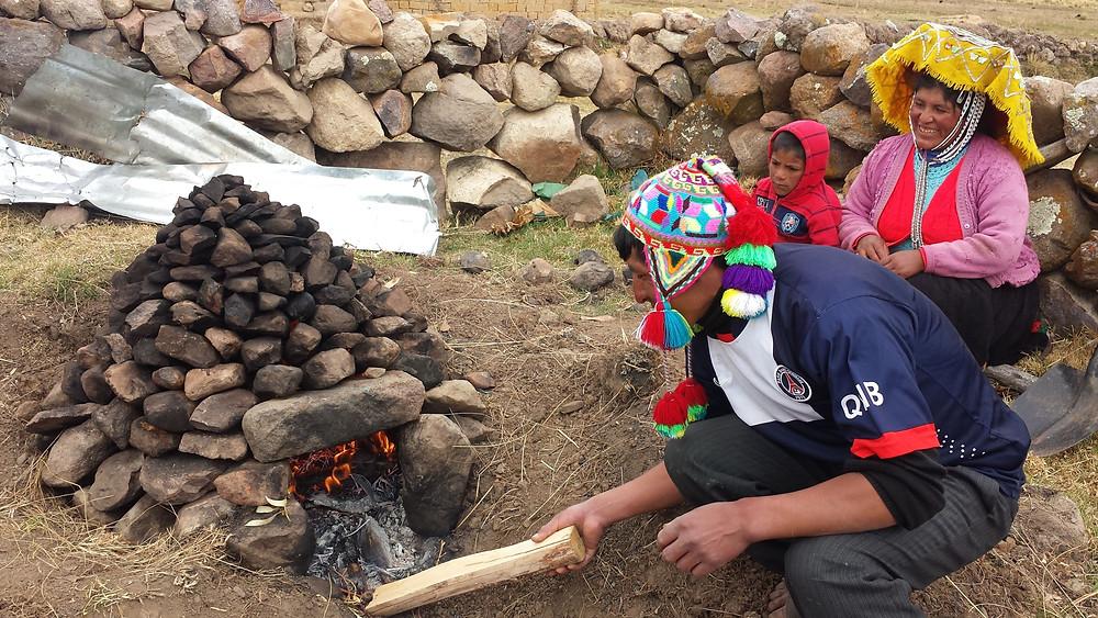Pachamanca, le plat traditionnel du Pérou