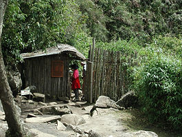 Sommet du  Huayna Picchu au Machu Picchu