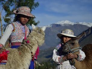 Les enfants péruviens