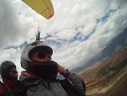 sport, sensation au Pérou Parapente à Cusco