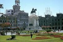 Visiter La Place Plaza San Martin à Lima au Pérou