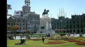 Visiter et à voir Plaza San Martin de Lima