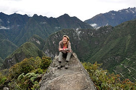 By Mc au sommet du  Huayna Picchu au Machu Picchu