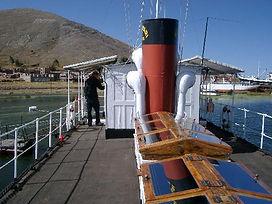 Puno à voir le bateau musée Yavari