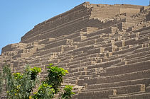 Lesruines de Huaca Pucclana à Lima visite au Pérou