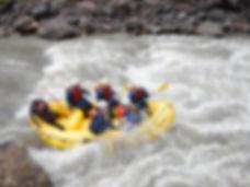 Aventure rafting et rapides au Pérou