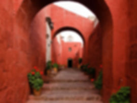 voyage sur mesure au pérou le Couvent de Santa Catalina à Arequipa