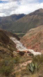 Chemin deMoray à Maras